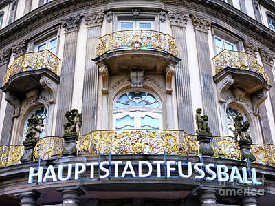 Photograph - Hauptstad Fussball by John Rizzuto