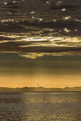 Photograph - Hauraki Gulf At Sunrise by Steven Schwartzman