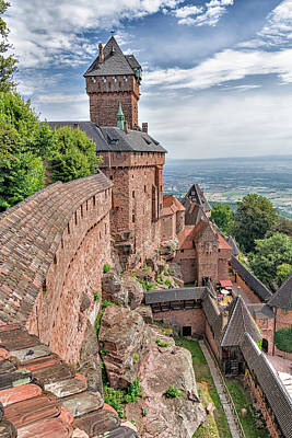 Photograph - Haut-koenigsbourg by Alan Toepfer
