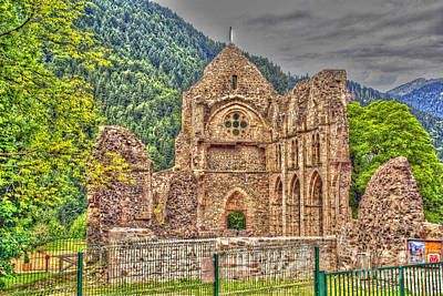 Photograph - Haute-savoie Abbey by Rod Jones