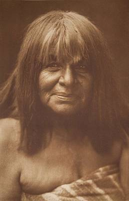 Havachach - Maricopa , Native American By Edward Sheriff Curtis, 1868 - 1952 Art Print