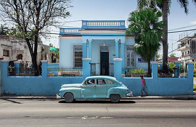 Photograph - Havana Blue by Al Hurley