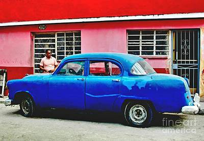 Photograph - Havana Blue by Ethna Gillespie