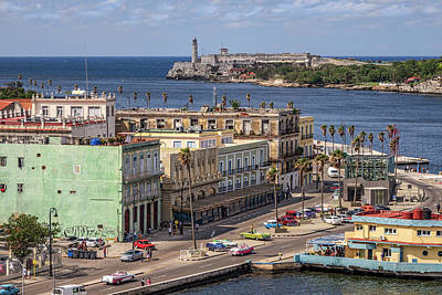 Photograph - Havana By The Port by Steven Sparks