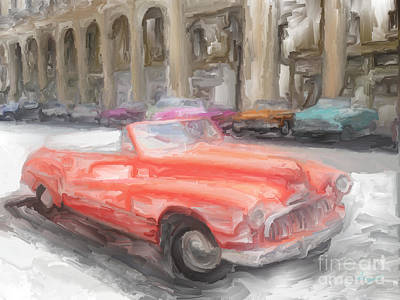 Havana Cars Art Print by Sergio B