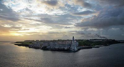 Photograph - Havana Castillo by Arthur Dodd