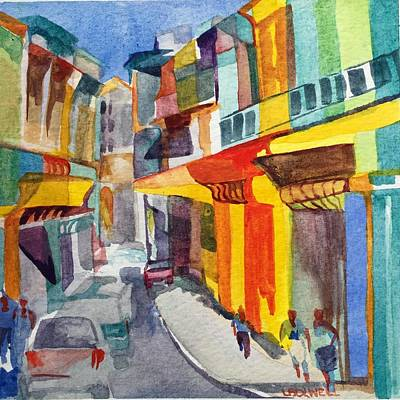 Painting - Havana Colors by Lynne Bolwell