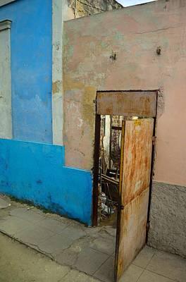 Door Photograph - Havana Door by Steven Richman