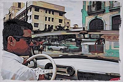 Photograph - Havana Driver by Alice Gipson