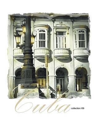 Havana Facade Art Print by Bob Salo