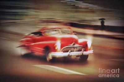 Rusted Cars Drawing - Havana Fantasy 3 by Svetlin Yosifov