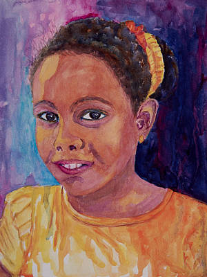 Painting - Havana Girl by Patricia Beebe