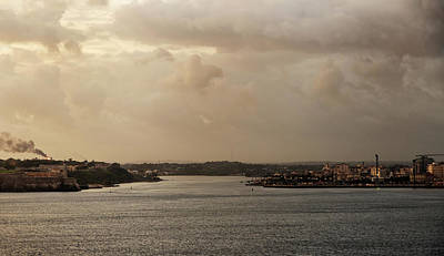 Photograph - Havana Harbor Approach by Arthur Dodd
