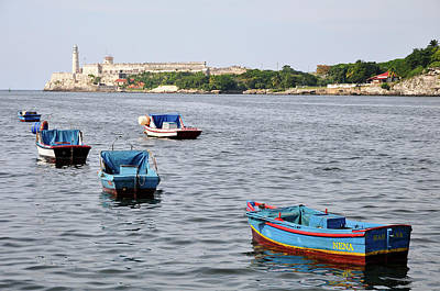 Photograph - Havana Harbor by Joel Thai