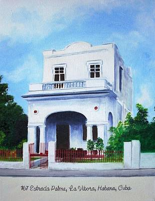 Painting - Havana House by Maria Mills