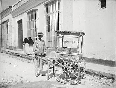 Photograph - Havana Ice Cream 1890 by Richard Reeve