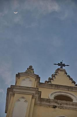 Photograph - Havana Iglesia De Santo Angel Custodio by Steven Richman
