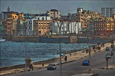 Photograph - Havana Malecon by Steven Richman