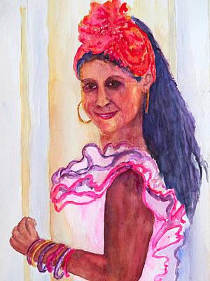 Painting - Havana Ruffles by Patricia Beebe