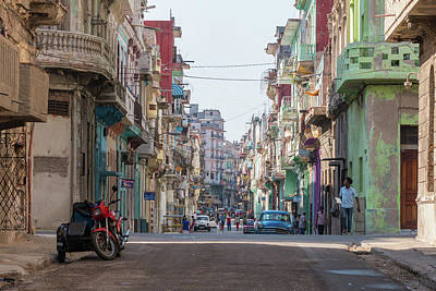Photograph - Havana Street by David Warrington