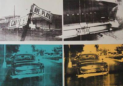 Old Street Painting - Havana Three by David Studwell