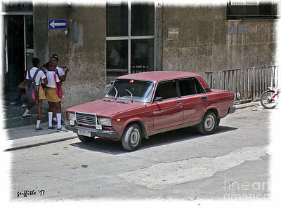 Photograph - Havana  Vintage 14 by Tom Griffithe