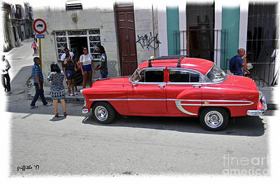 Photograph - Havana Vintage 17 by Tom Griffithe