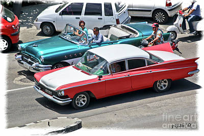 Photograph - Havana Vintage 26 by Tom Griffithe