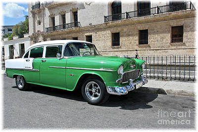 Photograph - Havana Vintage 6 by Tom Griffithe