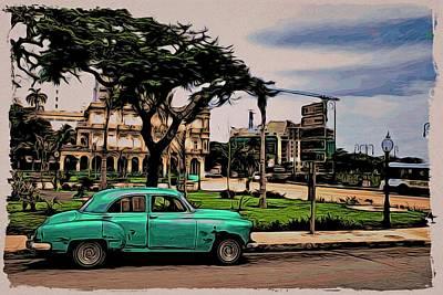 Photograph - Havana Way by Alice Gipson