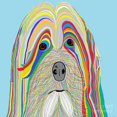 Dog Portrait Painting - Havanese by Eloise Schneider