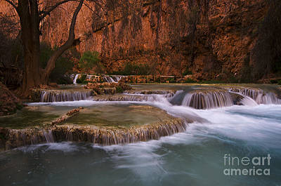 Havasu Creek Grand Canyon 1 Print by Bob Christopher