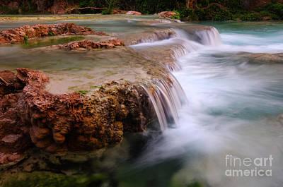 Photograph - Havasu Creek Havasupai 2 by Bob Christopher