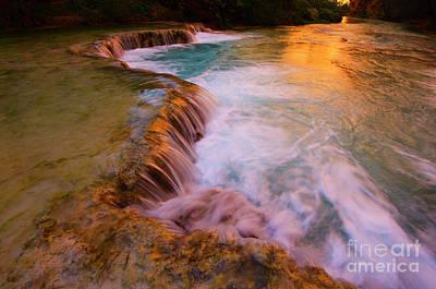 Photograph - Havasu Creek Havasupai by Bob Christopher