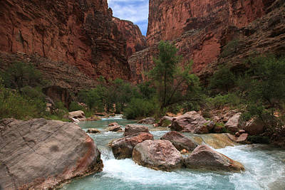 Havasupai Photograph - Havasu Creek by Mike Buchheit