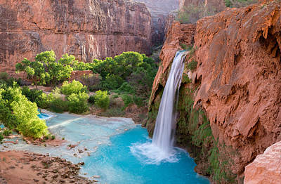 Photograph - Havasu Falls, Arizona 2 by Serge Skiba