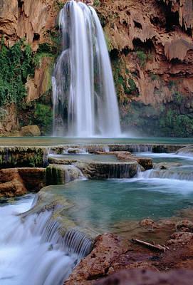 Photograph - Havasu Falls by Marco Busoni