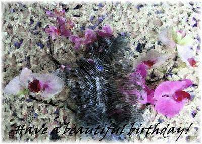 Photograph - Have A Beautiful Birthday by Barbie Corbett-Newmin