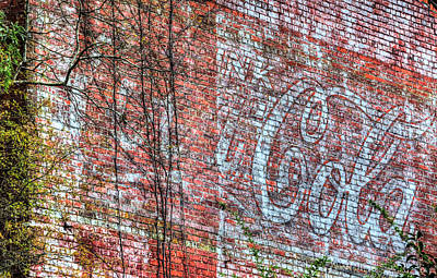 Old Coke Sign Wall Art - Photograph - Have A Coke by JC Findley