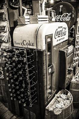Vintage Conway Photograph - Have A Coke by Tyler Wiggins