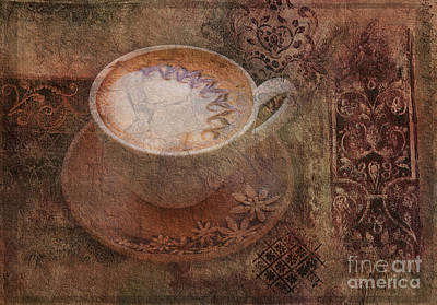 Digital Art - Have A Cuppa 2015 by Kathryn Strick