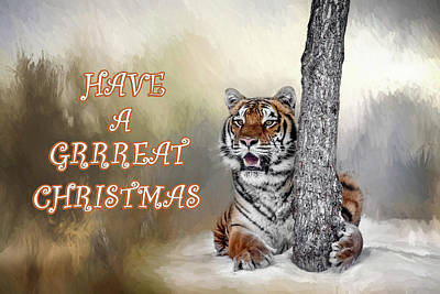 Photograph - Have A Grrreat Christmas by Wes and Dotty Weber