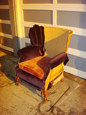 Photograph - Have A Seat In Dore Alley by Jim James