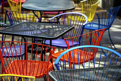 Photograph - Have A Seat by Karol Livote