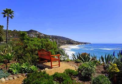 Laguna Beach Photograph - Have A Seat  by Linda Larson