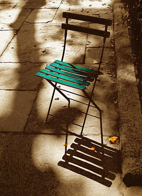 Have A Seat Art Print by Tom Kostro