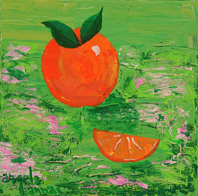 Tangy Painting - Have A Slice by Angela Annas