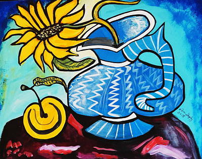 Painting - Have A Sunny Day by Nora Shepley