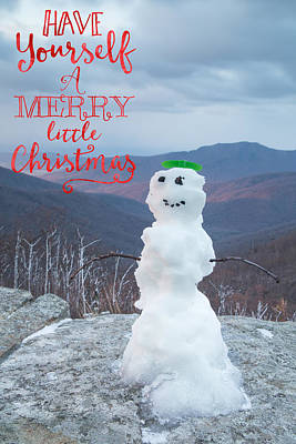 Funny Tree Shapes Photograph - Have A Very Merry Christmas by Cindy Archbell