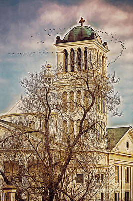 Photograph - The Church On Oak Street by Billie-Jo Miller